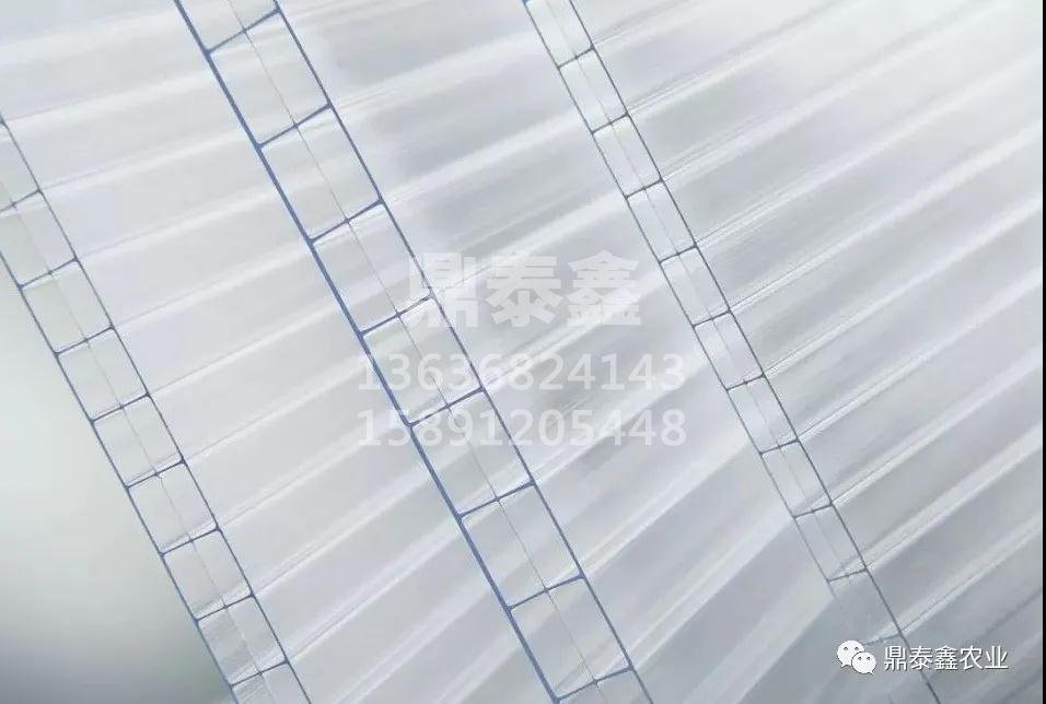 温室大棚用阳光板做覆盖材料的优势...