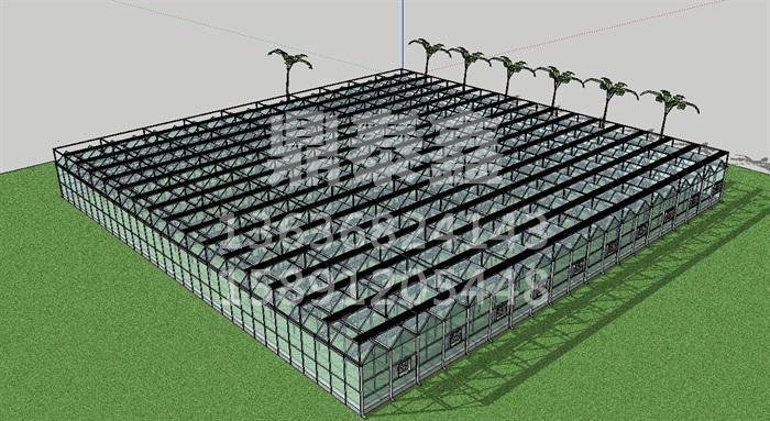 现代农业示范园温室工程规划设计特...